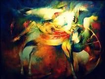 Arte dominiquense contemporânea Fotografia de Stock