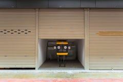 A arte dos elementos da rua e da arquitetura Fotografia de Stock