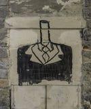 Arte dos grafittis Imagens de Stock Royalty Free