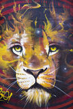 Arte dos grafittis e da rua em Bogotá Fotos de Stock