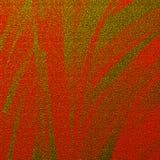 Arte dourada abstrata dos cursos do brilho para olhares criativos Teste padrão de superfície telhado vermelho fotografia de stock royalty free
