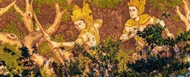 Arte e carvings de pedra em GWK fotografia de stock royalty free