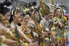 ARTE E CULTURA DE INDONÉSIA imagem de stock royalty free