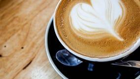 Arte e mão quentes do café Foto de Stock Royalty Free