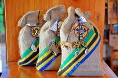 Arte e mestiere in Tanzania Immagini Stock