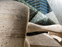 Arte ed architettura, Las Vegas, Nevada fotografie stock libere da diritti