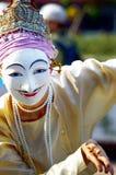 Arte ed arte della Tailandia della cultura Fotografia Stock Libera da Diritti