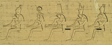 Arte egípcia 3 Foto de Stock