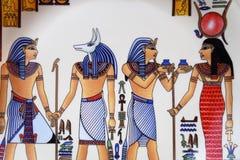 Arte egiziana Fotografia Stock Libera da Diritti