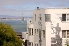Arte em Francisco, Califórnia, EUA fotografia de stock