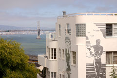 Arte en Francisco, California, los E.E.U.U. Fotografía de archivo
