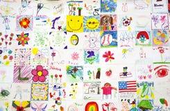 Arte F del bambino fotografie stock