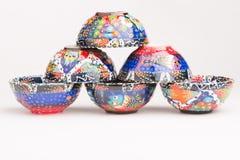 Arte feito a mão da cerâmica fotografia de stock