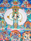 Arte -final da cultura tradicional de Tibet Fotos de Stock Royalty Free