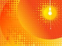 Arte -final da lâmpada Imagens de Stock