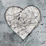Arte -final do coração Foto de Stock