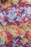 Arte -final do papel marmoreado Imagem de Stock Royalty Free