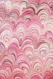 Arte -final do papel marmoreado Imagens de Stock