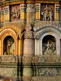 Arte -final do templo Imagens de Stock Royalty Free