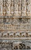 Arte -final indiana do templo Foto de Stock Royalty Free