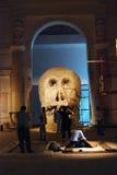 Arte finala em 6a Moscou Bienal da arte contemporânea Foto de Stock