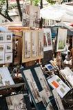 Arte finala em Paris Imagens de Stock Royalty Free