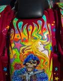 Arte finala estranha da motocicleta Imagens de Stock Royalty Free