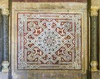 A arte finala islâmica egípcia foto de stock