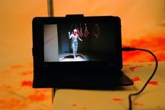 Arte finala na 6a Moscou Bienal da arte contemporânea Imagem de Stock Royalty Free