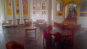 Arte finala no palácio de Banglaore, Bengaluru, Índia fotos de stock royalty free