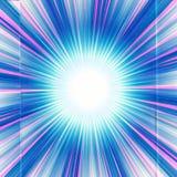 Arte finala original colorido artística da explosão da estrela do sumário ilustração do vetor