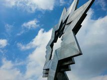 Arte finala principal tripla da estrela, Furzton, Milton Keynes Imagem de Stock Royalty Free