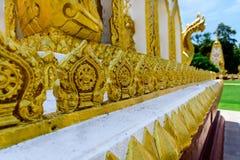Arte finala tailandesa no baseado do pagode Imagem de Stock Royalty Free