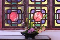 Arte floral Fotografia de Stock Royalty Free