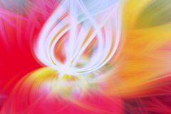 Arte floral da proemin?ncia do fundo do fractal futuristic ilustração stock