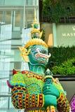 Arte floral, pero un gigante en Tailandia Imagenes de archivo