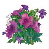Arte flowers-1 Fotografie Stock