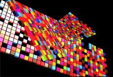 Arte futura abstrata Imagem de Stock