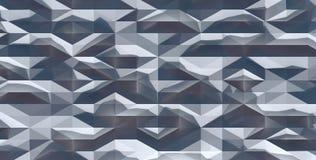 Arte geométrica abstrata branca, fundo, papel de parede renda ilustração do vetor