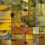 Arte geometrica Fotografie Stock
