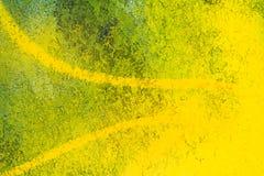 Arte gialla della via illustrazione di stock