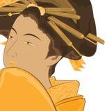 Arte giapponese tradizionale Immagini Stock
