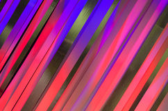 Arte gráfica preta cor-de-rosa vermelha roxa de tiras de cores Fotografia de Stock Royalty Free