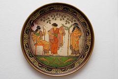 Arte grega Imagens de Stock Royalty Free