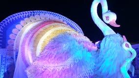 Arte hermoso del pavo real Imagen de archivo libre de regalías
