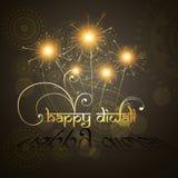 Arte hindú hermoso del festival del diwali Fotografía de archivo
