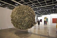 Arte internazionale di Hong Kong giusta: Caratteristica della sfera Fotografie Stock