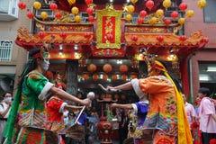 Arte interpretativa de Taiwán los ocho generales Imágenes de archivo libres de regalías