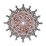Arte islámico del círculo Imagen de archivo libre de regalías