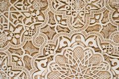 Arte islamica - Alhambra fotografia stock